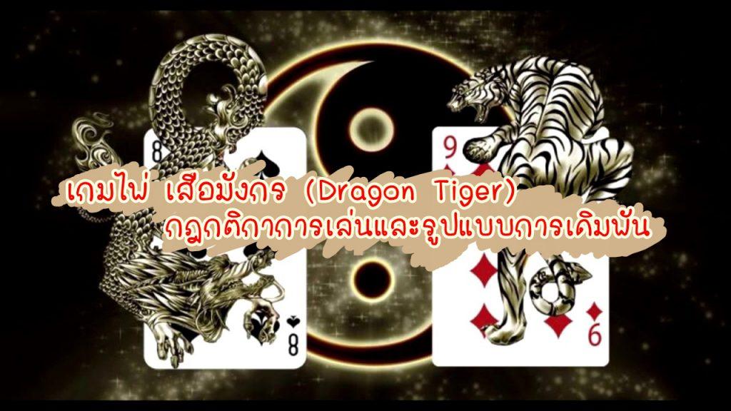 ปก สรุปกฎกติกา เกมไพ่เสือมังกร