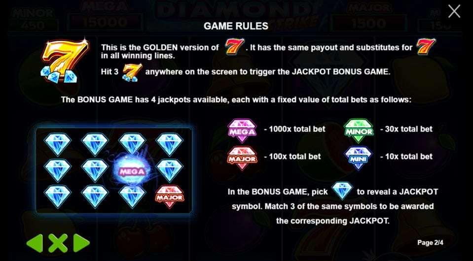 Diamond Strike-แต้มจ่าย