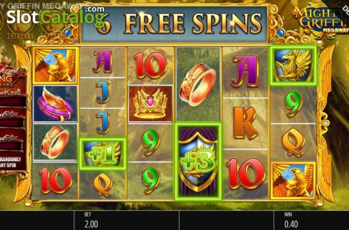 Mighty Griffin Slot -วงล้อ
